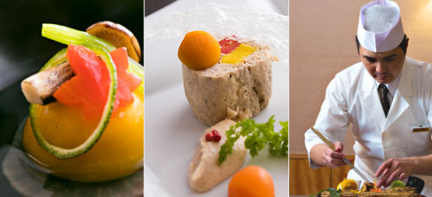 伝統と現代の融合、 そして料理人の技と心
